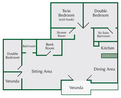 Holly Lodge Floor Plan