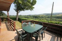 Holly Lodge Veranda with Views of Exmoor