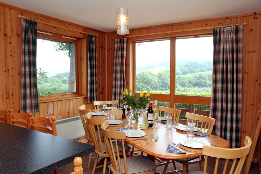 Holly Lodge Dining with Views