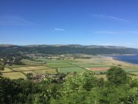 Views over porlock Bay