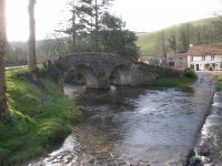 Pack Horse Bridge Dunster