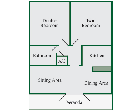 Pine, Cedar and Yew Lodge Floor Plan