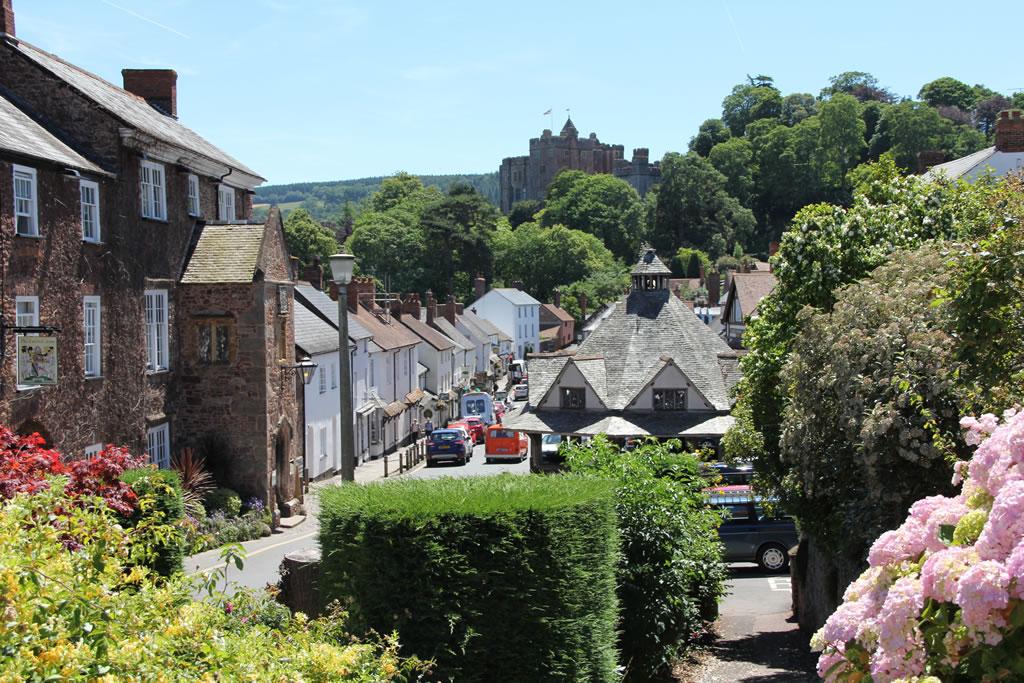 Dunster VIllage and Castle